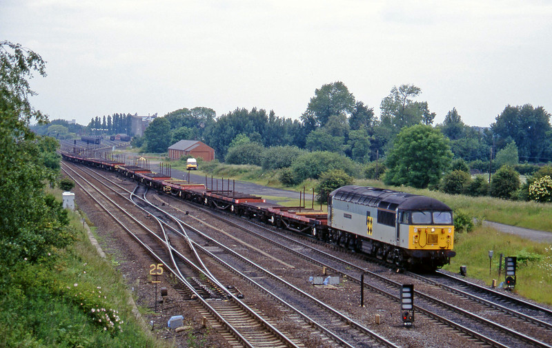 56117, up steel flats, Monk Fryston, 19-6-96.