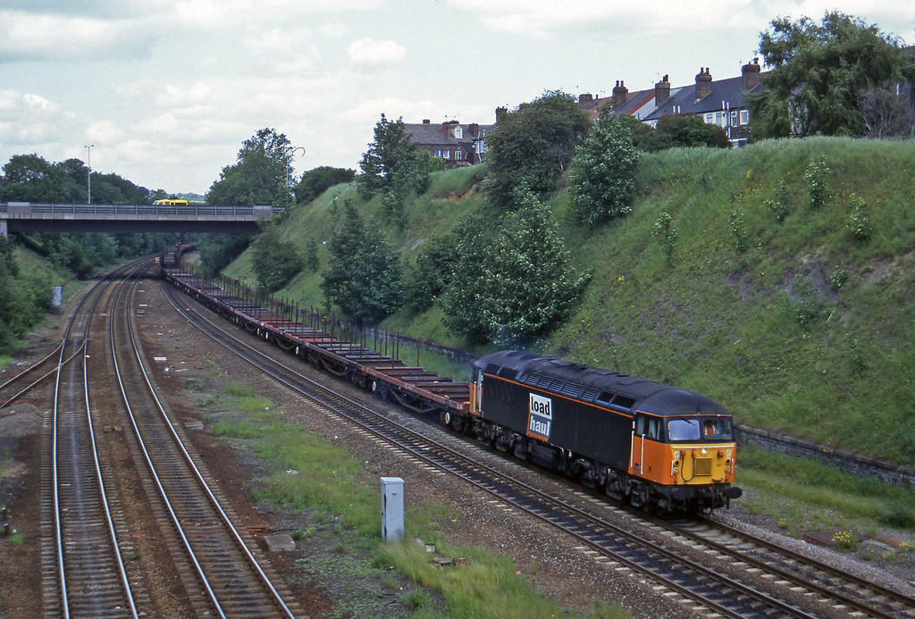56107, up steel, Rotherham Masborough, 12-6-96.