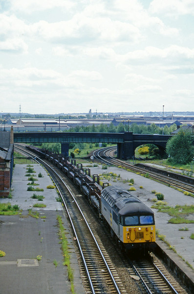 56117, down steel, Rotherham Masborough, 12-6-96.