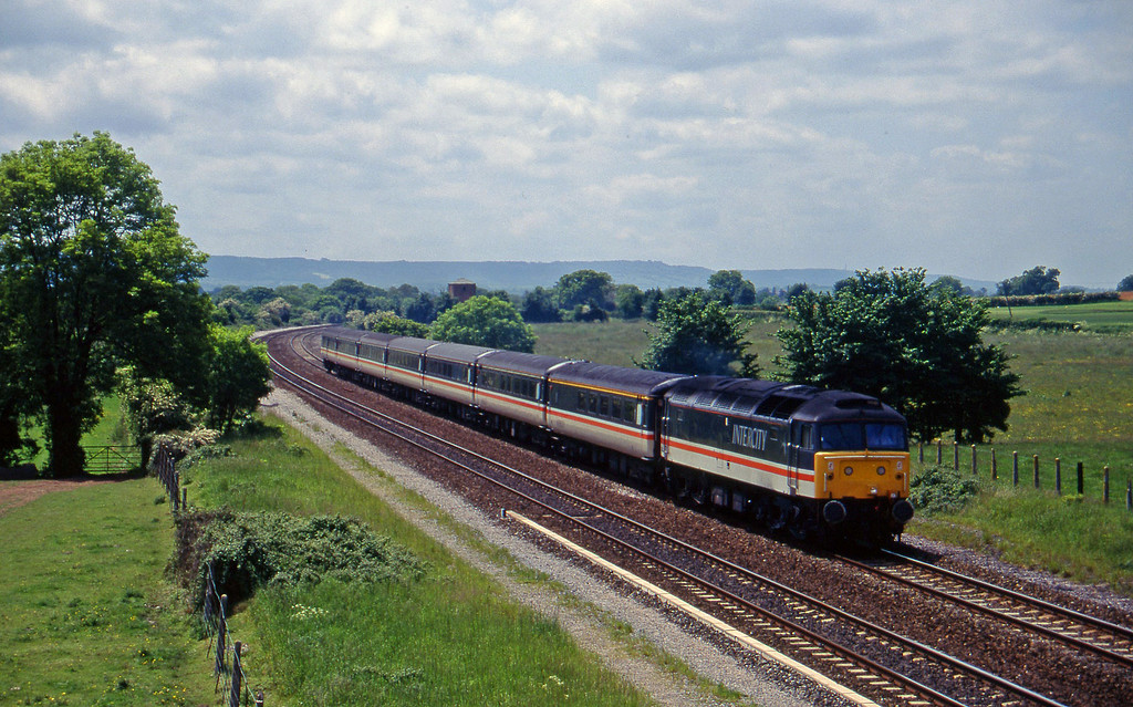 47847, 11.40 Plymouth-Liverpool Lime Street, Cogload, 4-6-96.