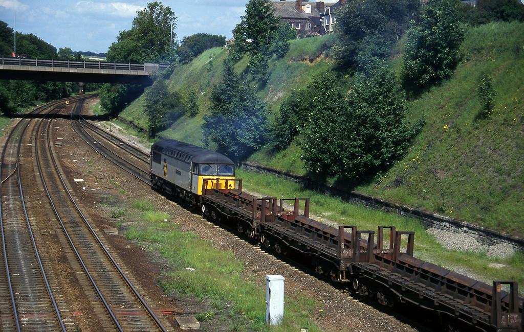56117, down steel, Rotherham Masborough, 12-6-96.