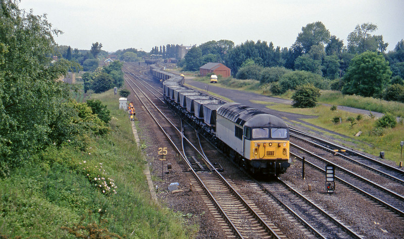 56011, up mgr empties, Monk Fryston, 19-6-96.