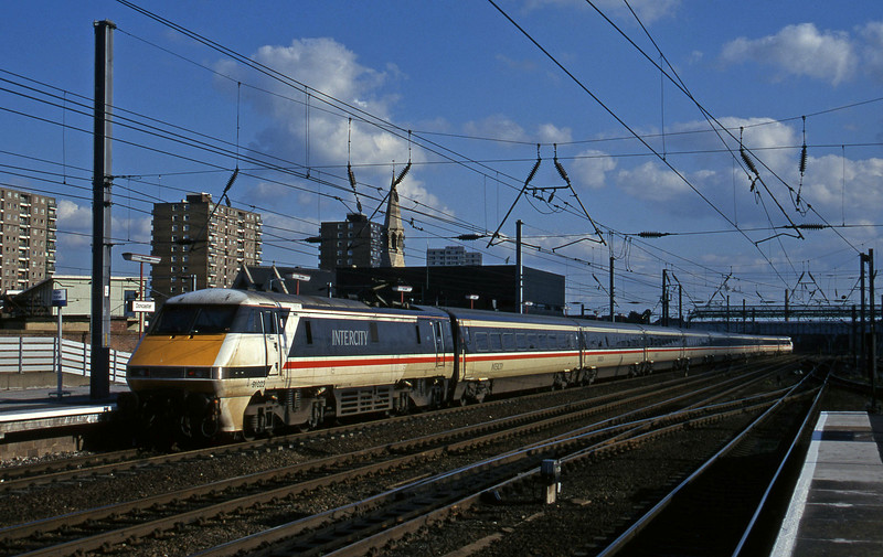 91023, up passenger, Doncaster, 12-6-96.