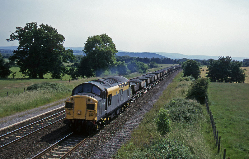 37098, up ballast, Cogload, 18-6-96.