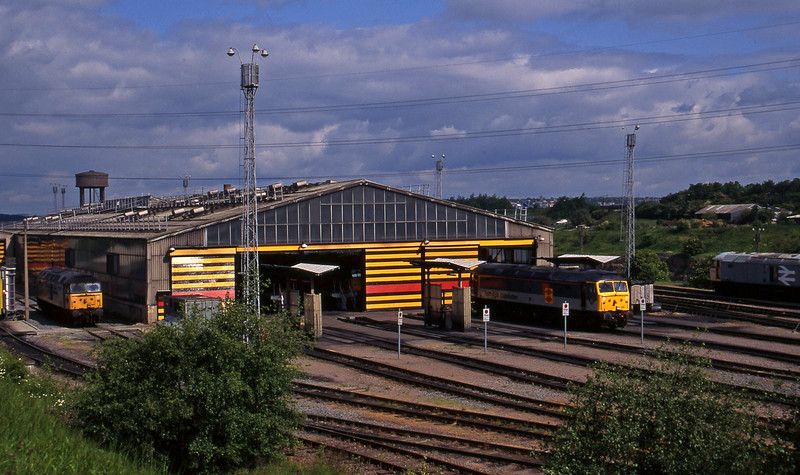 47309/47258/47019, stabled, Tinsley, Sheffield, 12-6-96.