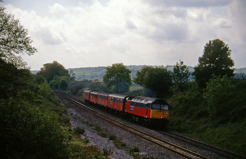 47769, 13.53 Plymouth-Crewe, Whiteball, 4-6-96.