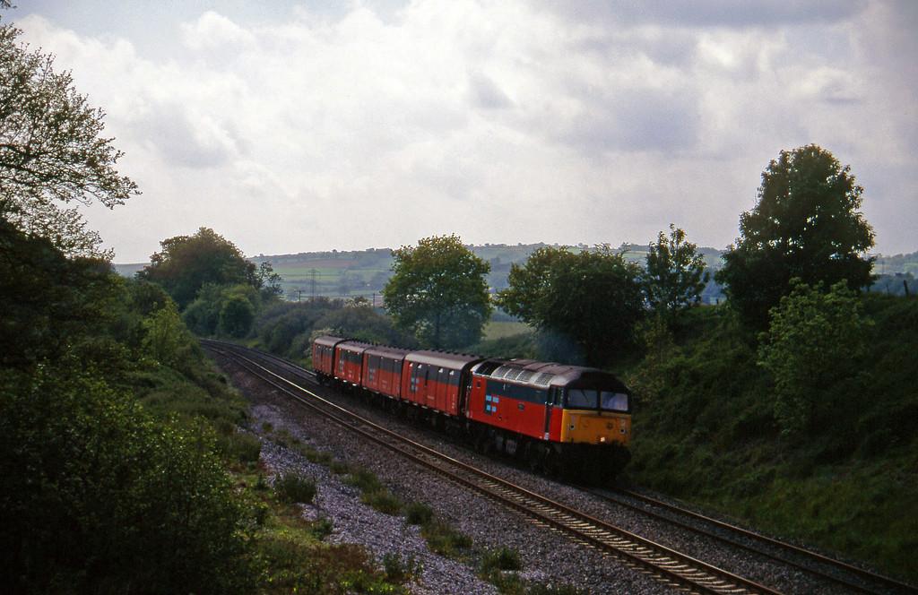 47769, 13.53 Plymouth-Crewe, Whiteball, 4-6-96.