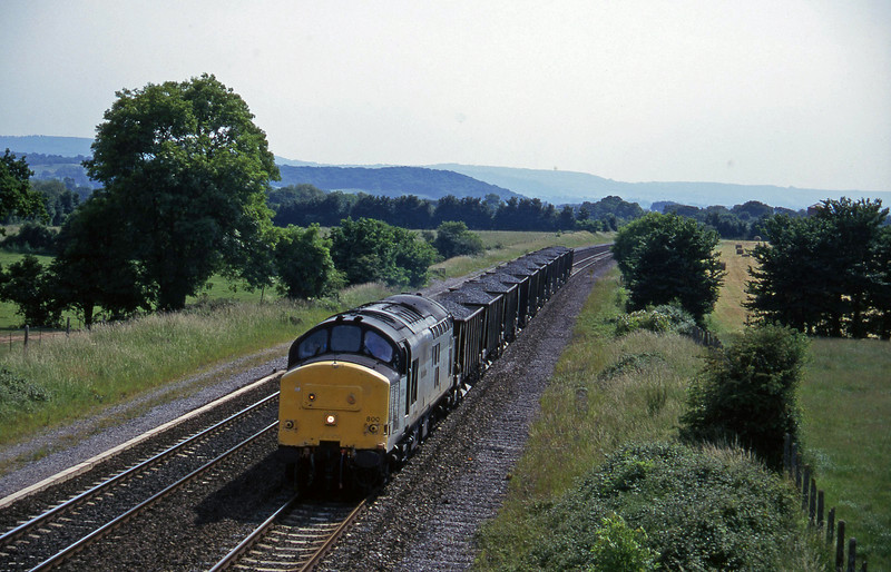 37800, up ballast, Cogload, 18-6-96.