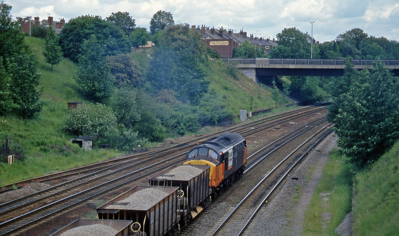 37517, down ballast, Rotherham Masborough, 12-6-96.