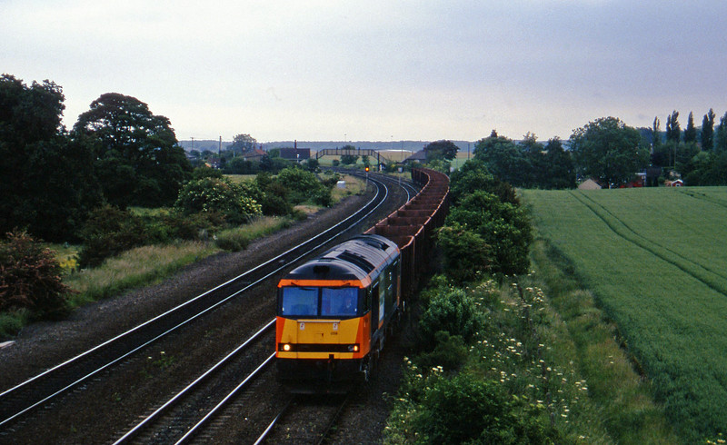 60059, westbound ore, Melton Ross, 19-6-96.