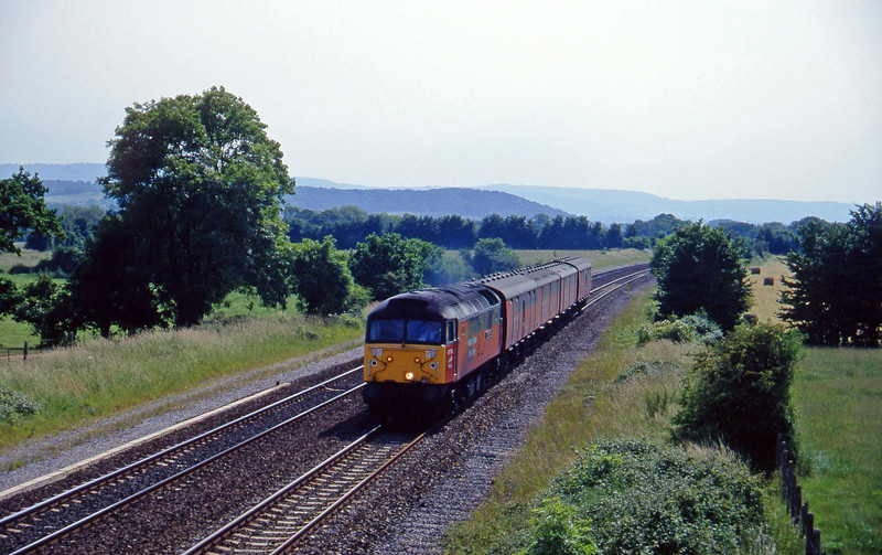 47774, 13.53 Plymouth-Crewe, Cogload, 18-6-96.
