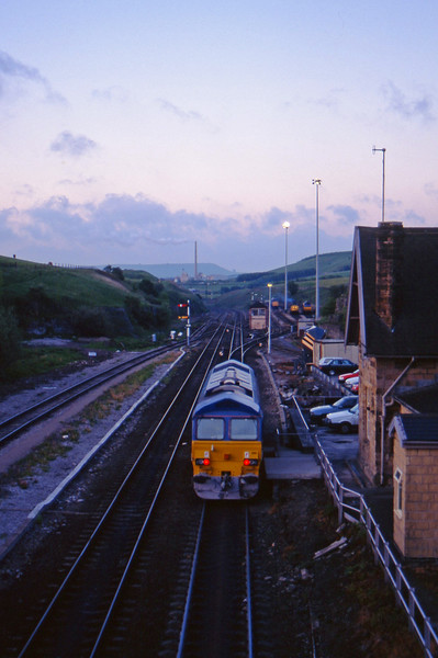 59205, off stabling point, up light, Peak Dale, 12-6-96, 05.00.