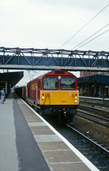 58033, up mgr, Doncaster, 19-6-96.