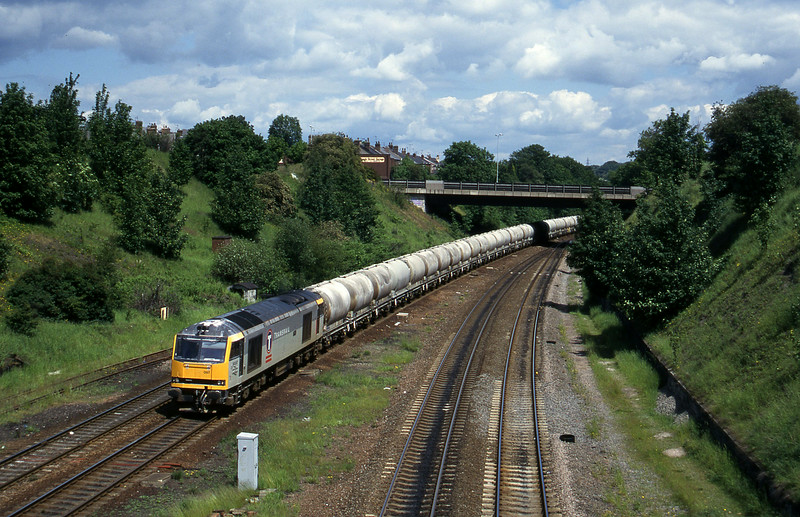 60097, up cement emties, Rotherham Masborough, 12-6-96.