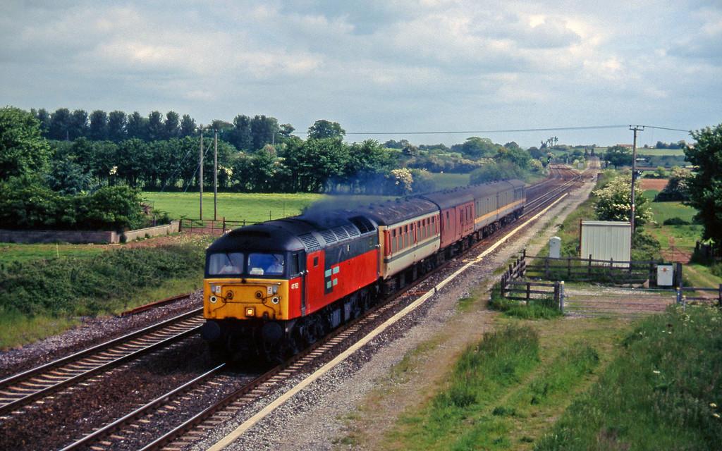 47762, down test train, Cogload, 4-6-96.