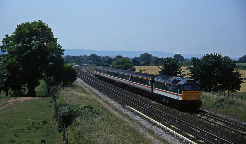 47828, 11.40 Plymouth-Liverpool Lime Street, Cogload, 18-6-96.