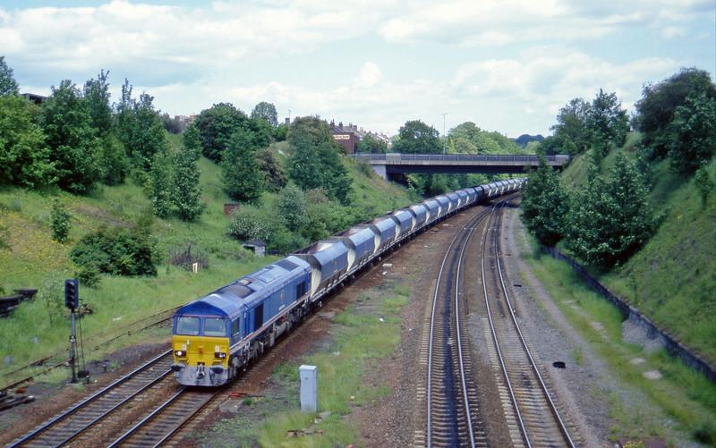 59205, Drax Power Station-Tunstead, Rotherham Masborough, 12-6-96.