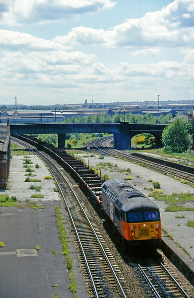 56077, down steel flats, Rotherham Masborough, 12-6-96.