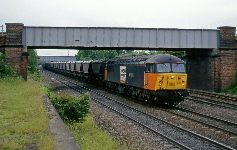 56039, down mgr, northbound, Monk Fryston, 19-6-96.
