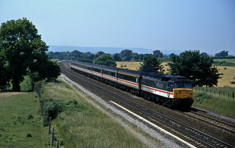 47849, 10.44 Plymouth Manchester Piccadilly, Cogload, 18-6-96.