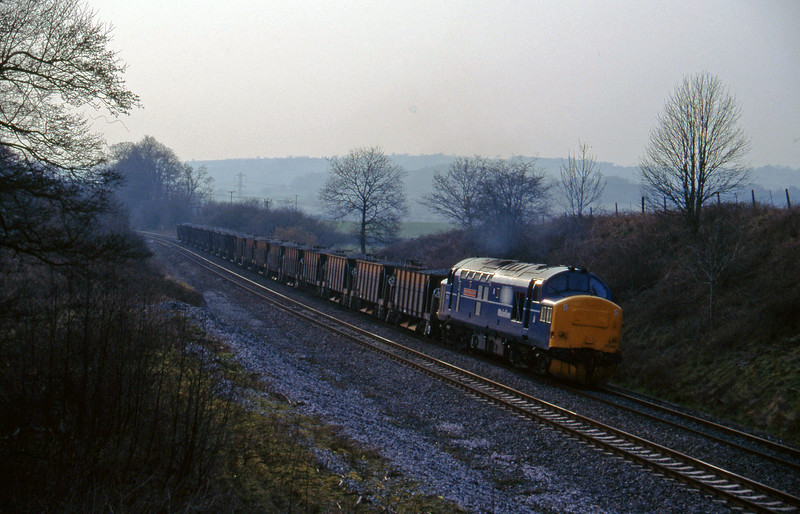 37248, up ballast, Whiteball, 13-3-96.