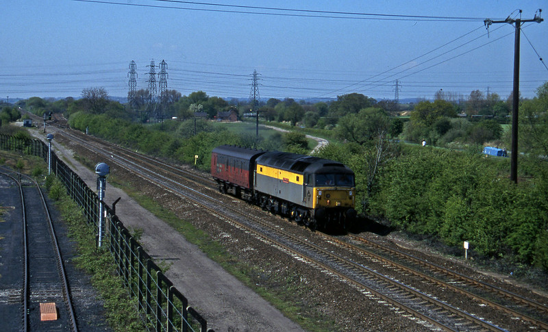 47976, down van, Stenson Junction, near Derby, 14-5-96.