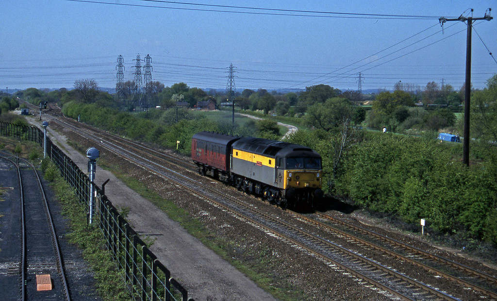47976, down van, Stenson Junction, near Derby, 14-5-96.