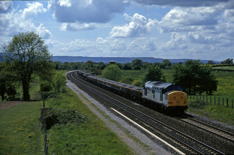 37227, up ballast, Cogload, 21-5-96.