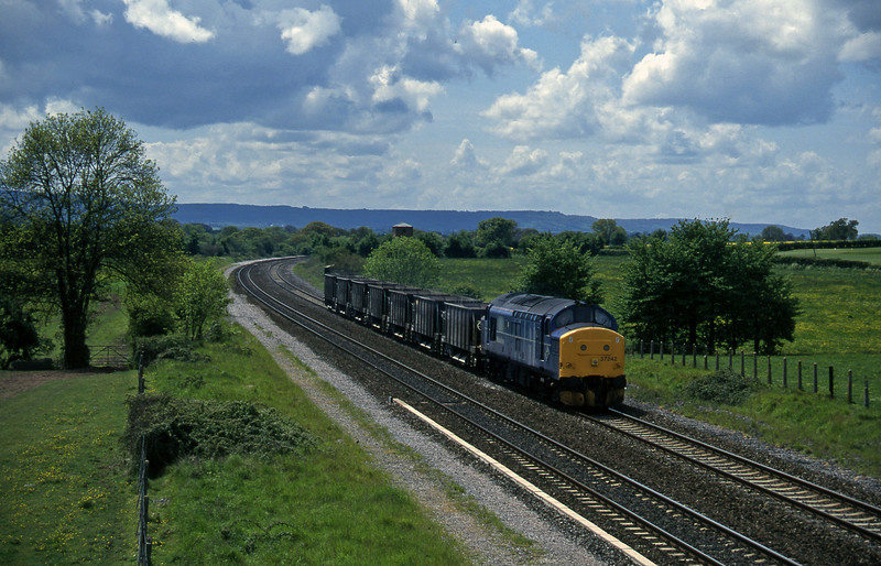 37242, up ballast, Cogload, 21-5-96.