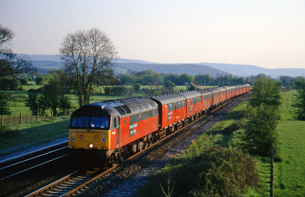 47780, 17.10 Plymouth-Low Fell, Cogload, 3-5-96.