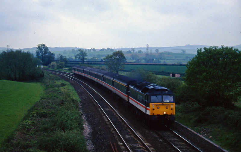 47850, 11.40Plymouth-Lierpool Lime Street, Willand, near Tiverton, 28-5-96.
