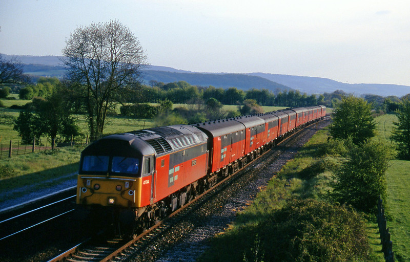 47744, 17.10 Plymouth-Low Fell, Cogload, 8-5-96.