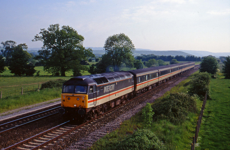 47849, 16.50 Plymouth-Sheffield, Cogload, 30-5-96.