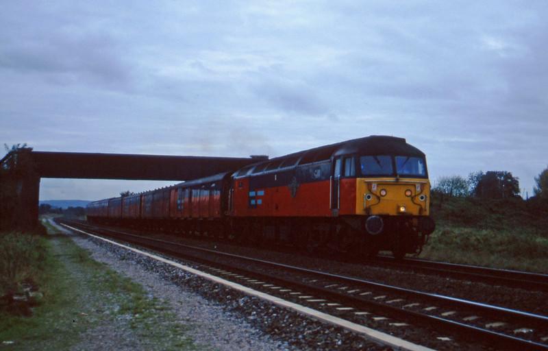 47791, 12.44 Plymouth-Glasgow, Cogload, 5-11-96.