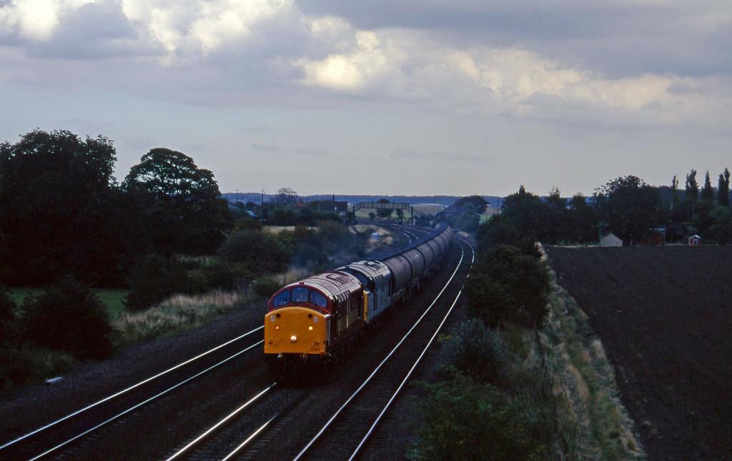 37503/37515, Lindsey-West Burton, Melton Ross, near Barnetby, 1-10-96.