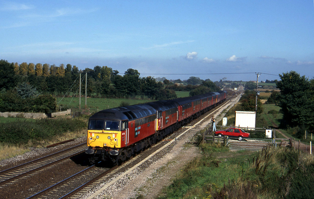 47739/47776, 12.14 Bristol Temple Meads-Plymouth, Cogload, 2-10-96.