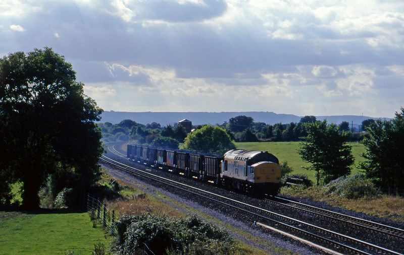 37245, up ballast, Cogload, 2-10-96.
