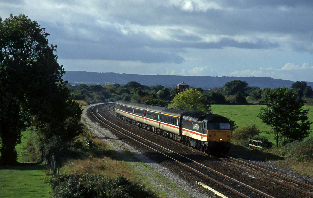 47825, 10.44 Plymouth-Manchester Piccadilly, Cogload, 15-10-96.