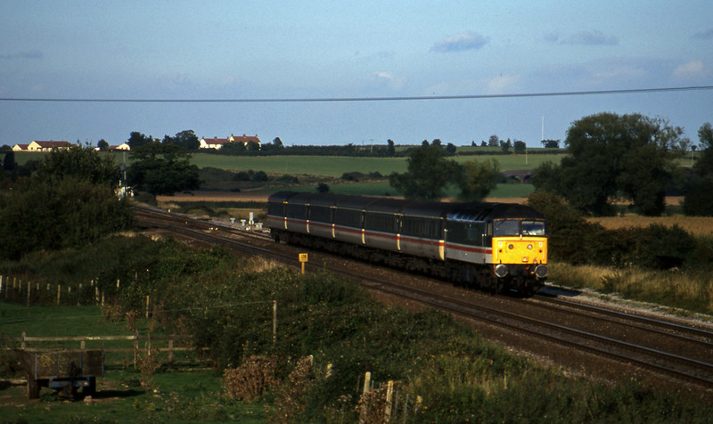 47849, 12.17 Manchester Piccadilly-Plymouth, Cogload, 2-10-96.