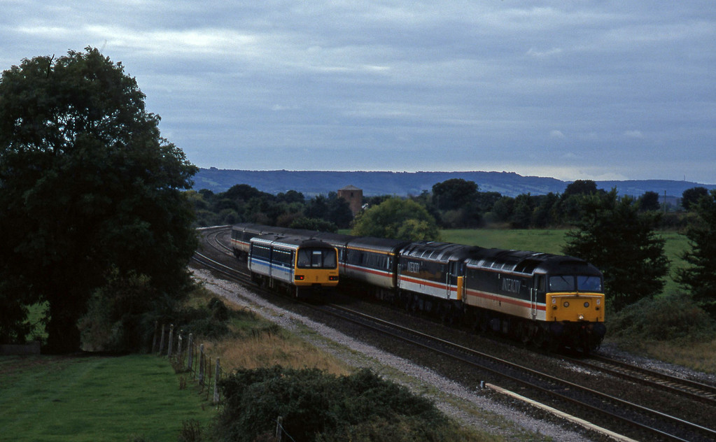47812/47831, 10.44 Plymouth-Manchester Piccadilly, Cogload, 9-10-96.