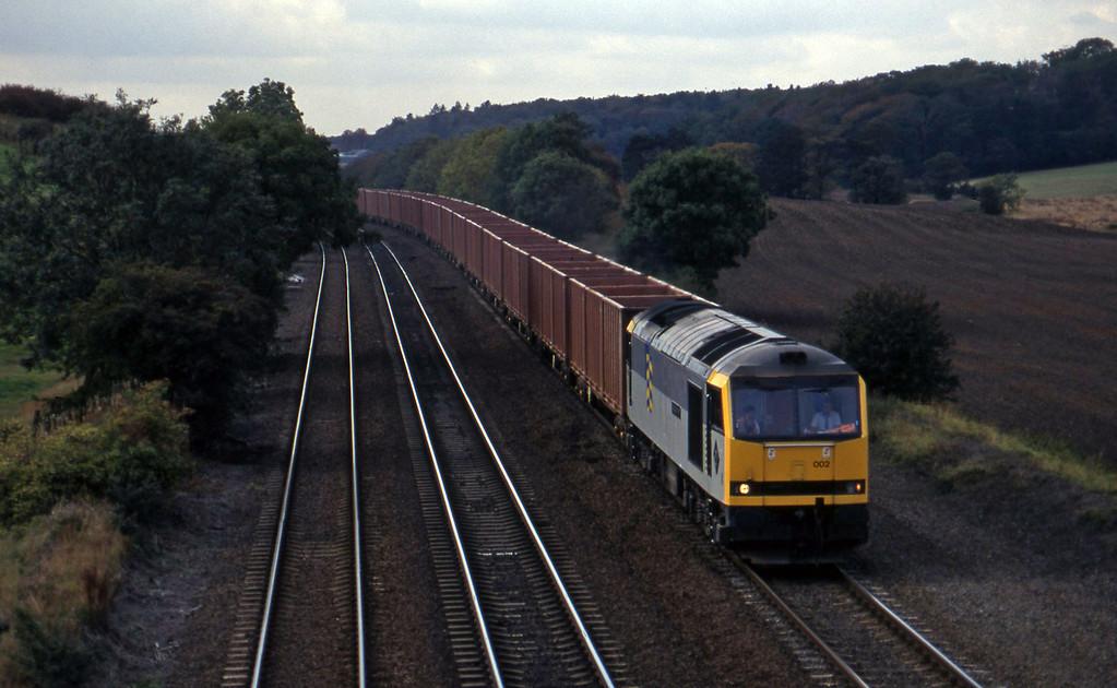 60002, Roxby-Grimsby, Melton Ross, near Barnetby, 1-10-96.