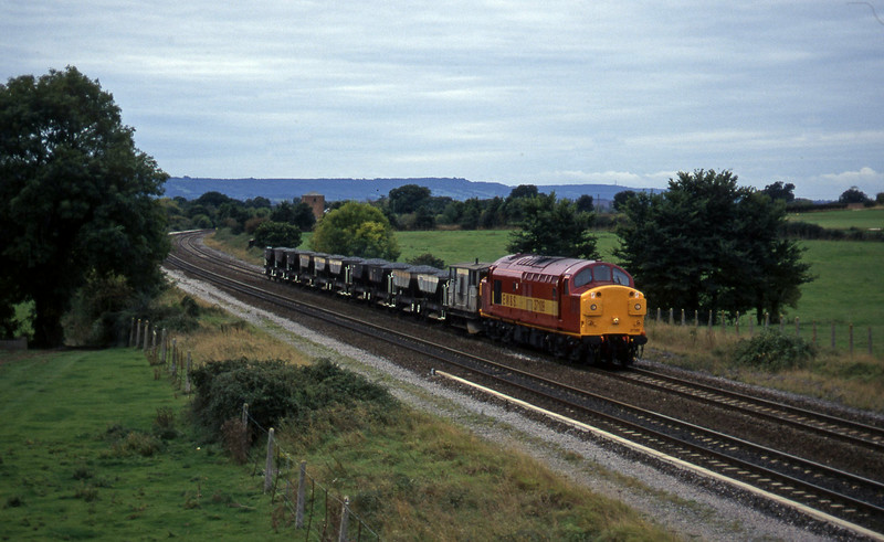 37109, up ballast, Cogload, 9-10-96.