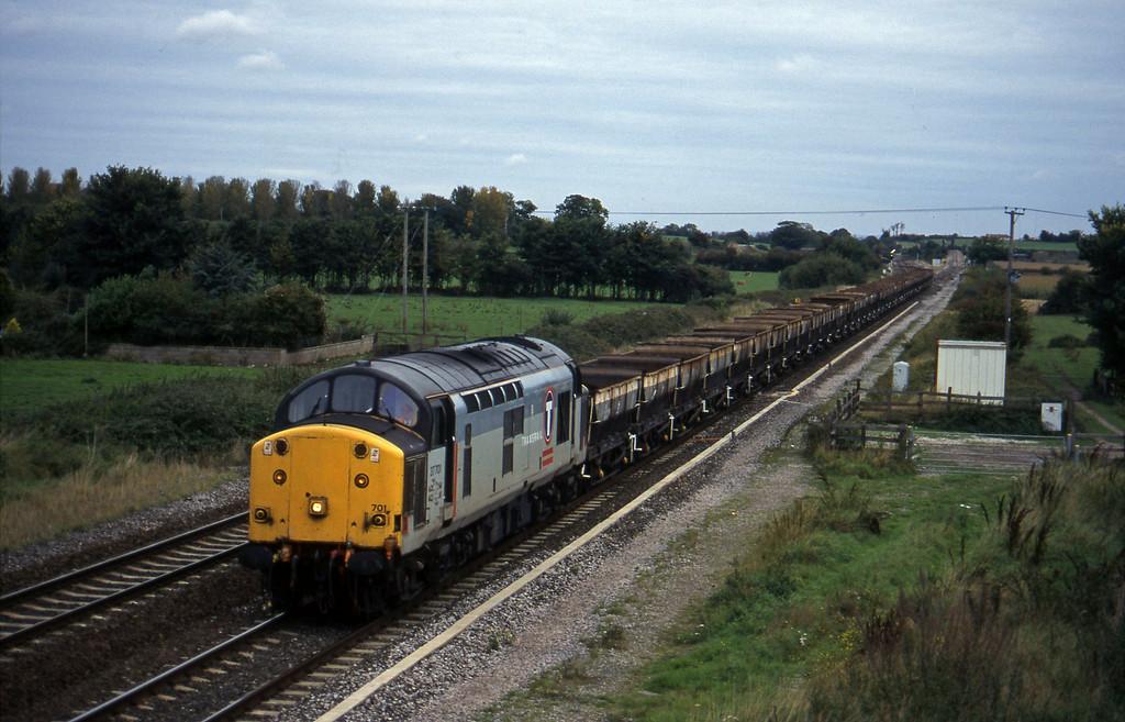 37701, Newport Alexandra Dock Junction-Exeter Riverside Yard, Cogload, 9-10-96.