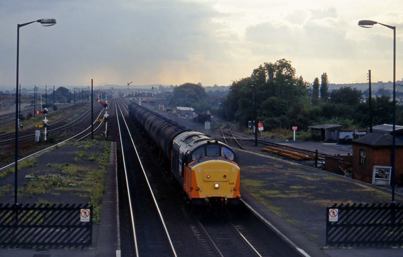 37698, eastbound tanks, Barnetby, 1-10-96.