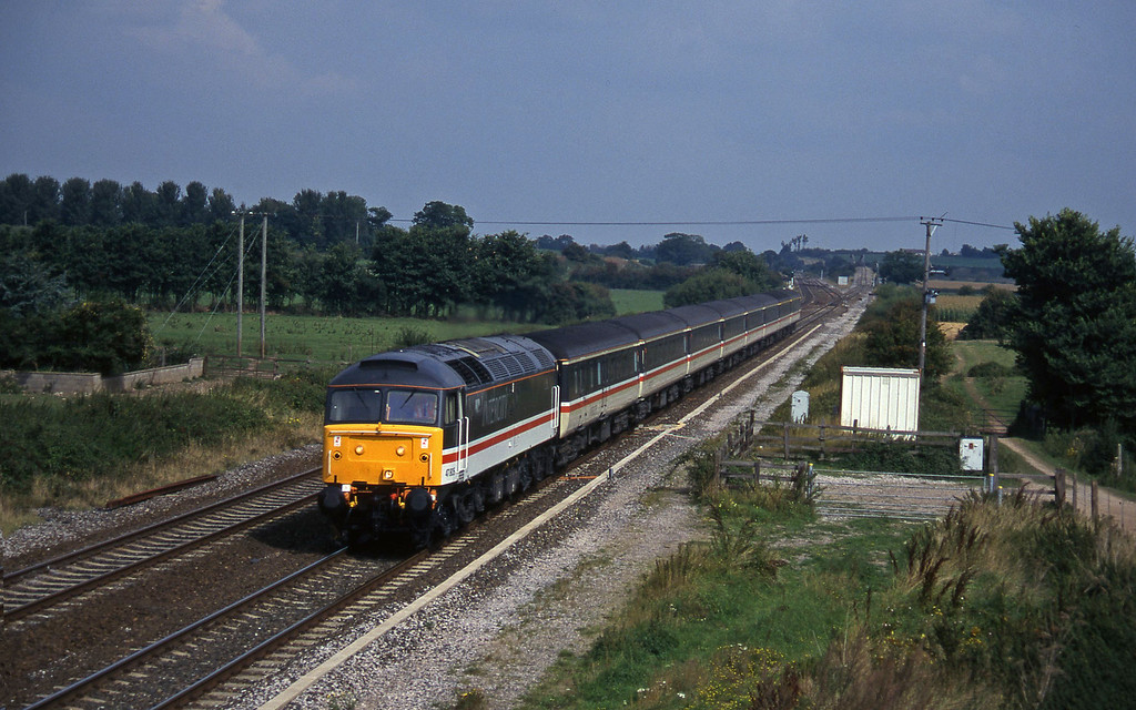 47805, 09.10 Liverpool Lime Street-Plymouth, Cogload, 10-9-96.