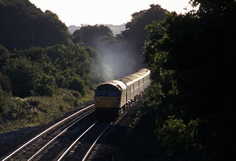 47854, 16.50 Plymouth-Sheffield, Whiteball, 13-9-96,