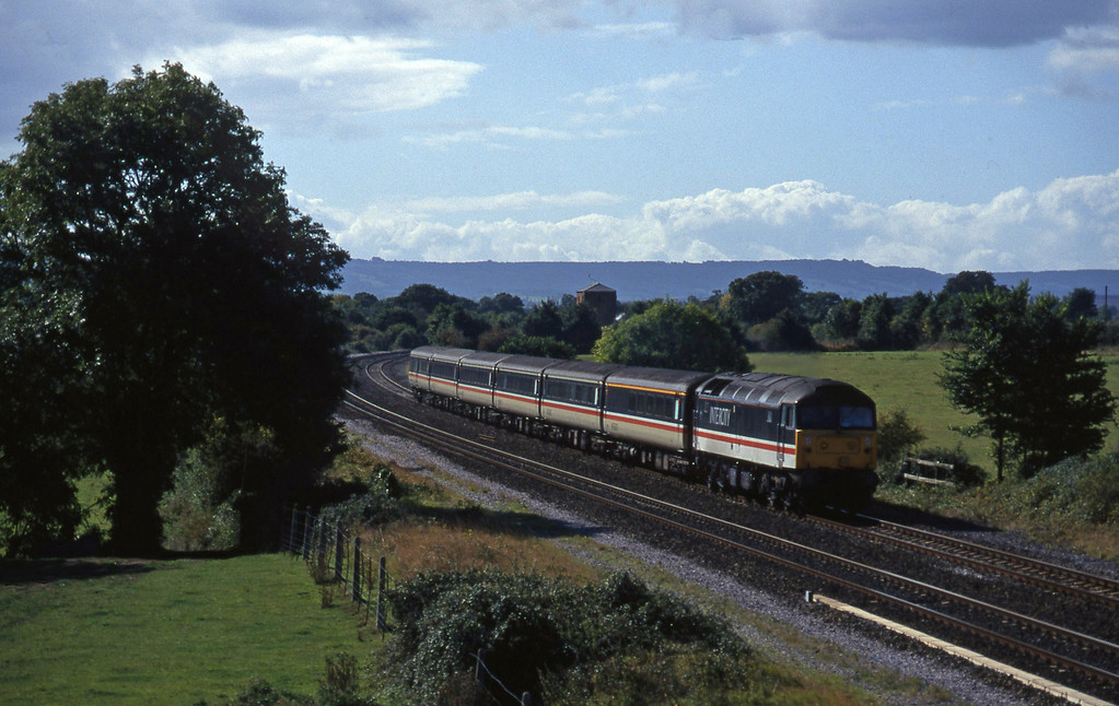 47848, 11.40Plymouth-Liverpoool Lime Street, Cogload, 27-9-96.
