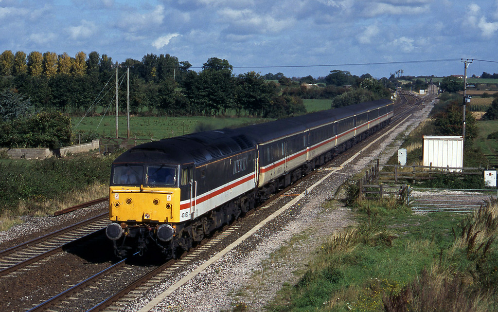 47853, 09.10 Liverpool Lime Street-Plymouth, Cogload, 27-9-96.