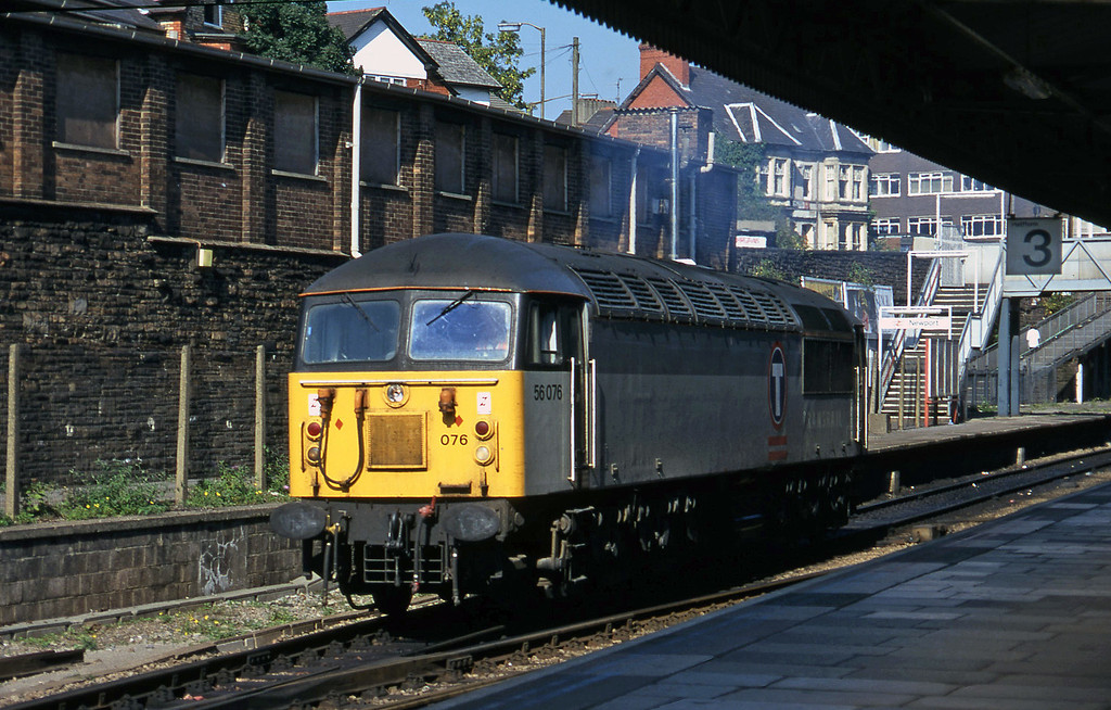 56076, off stabling point, down light, Newport, 17-9-96.