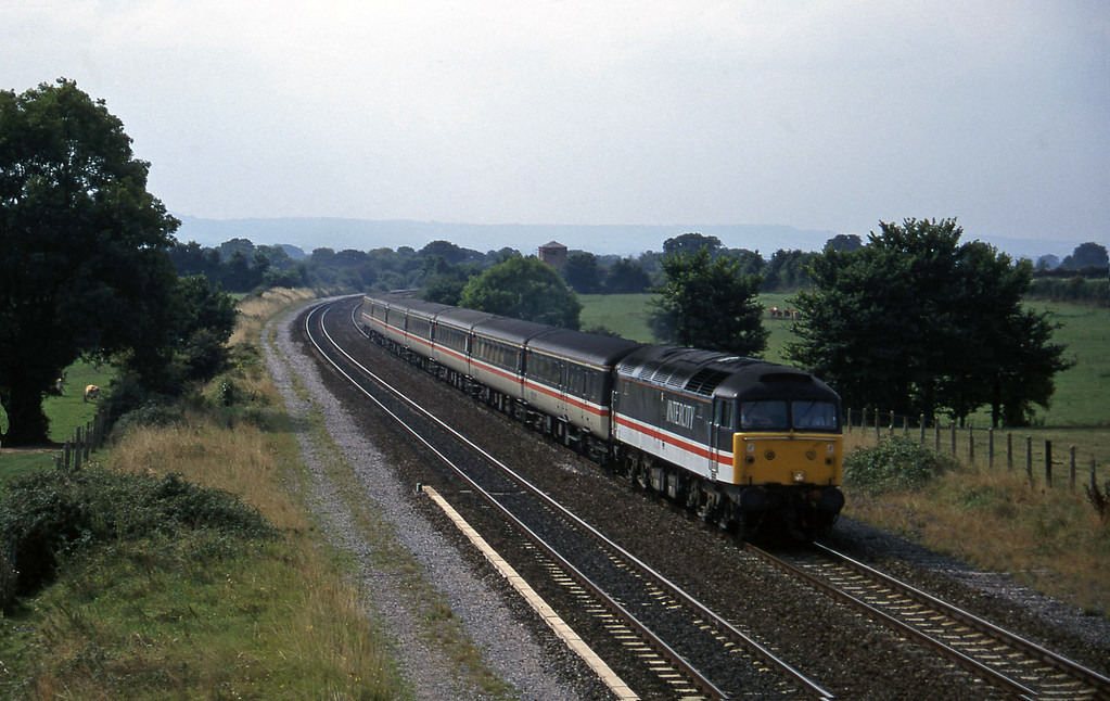 47853, 11.50 Plymouth-Liverpool Lime Street, Cogload, 10-9-96.